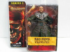 JACK SPARROW Pirates Of THE CARIBBEAN SAO FENG ACTION FIGURE Carribean NECA