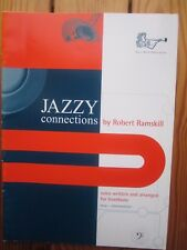 Jazzy Connections - trombone in bass clef & piano - Ramskill *NEW* Brass Wind