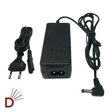 """Para Hp Mini 2102 1000 110 210 pa-1400-18ha 10.1 """"Laptop Cargador + Cable De Red de la UE"""