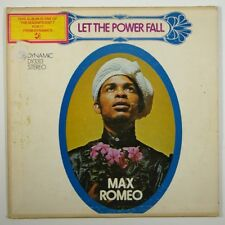 """Max Romeo """"Let the Power Fall"""" Reggae LP Dynamic Sounds"""
