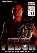 9264 // FIGHTSPORT ABSOLUTE FEDOR SES PLUS BEAUX KO & COMBATS