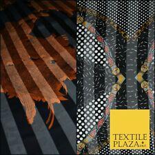 High Quality Zebra Spots Handbags Peacock Aquatic Printed Georgette Dress Fabric