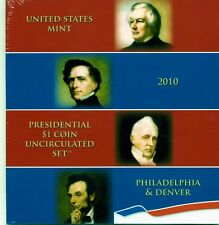 2010-P&D $1 Presidential Dollar BU Unopened 8 Coin Set  20ltoc0220 $2 Shipping