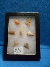 Lot of 7 Bird Points w/ Case, Guadalupe, NM. ABA-14709