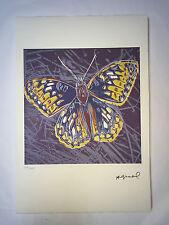 Andy Warhol Litografia 57 x 38 Arches France Timbro Secco Galleria Arte A018