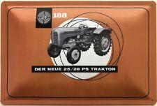 Blechschild 30 X 20 cm Steyr 188 - Der neue 25/28 PS Traktor