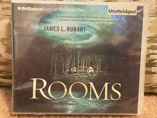 NEW! ROOMS : A Novel by JAMES L RUBART (2010, Compact Disc, Unabridged edition)