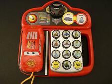 RARE Vtech Disney CARS Learning Phone FRENCH Talks & Lights Up!