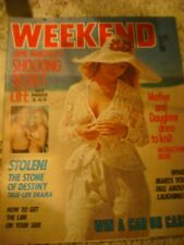RARE Jayne Mansfield ON Cover & Pictures & story WEEKEND February 1975