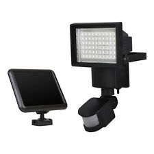 60LED PIR Solar Outdoor Sports Sensor Garden Floodlight Security Floodlights