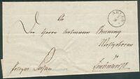 Ahlen Vorphilabrief 1. Sept. 1844 orig. gelaufen nach Lendendorf