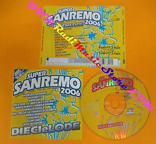 CD Compilation Super Sanremo 2006 OXA BRITTI GRIGNANI FINIZIO no lp mc (C18)