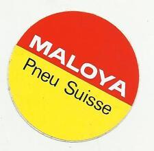 ADESIVO LABEL STICKER  MALOYA PNEU SUISSE