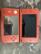 Nintendo 3DS XL Handheld Gaming System - Red w/ 32GB SD Card & b9s installed