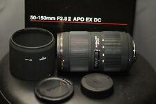 SIGMA 50-150MM F2.8 HSM II LENS FOR NIKON MOUNT DSLR PHOTO 4K DSLR VIDEO CAMERA