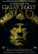 ALEISTER CROWLEY New Sealed COMPLETE HISTORY & BIOGRAPHY DVD