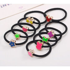 Pop 10Pcs Elastic Hair Ties Band Ropes Ring Ponytail Holder Accessories Pop Hf