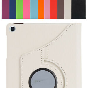 """Case For Samsung Galaxy Tab A 8.0"""" 2019 T290 T295 Leather Rotating Stand Cover"""