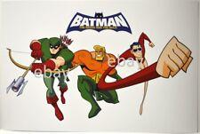 Batman Brave & The Bold Print Dc - Green Arrow Aquaman & Plastic Man