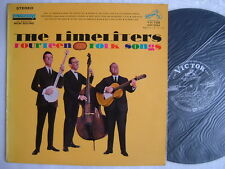 THE LIMELITERS FOURTEEN FOLK SONGS / 60'S LAMINATED FLIP BACK COVER