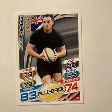 Topps Rugby Attax Card 2015 #105 Israel Dagg New Zealand Full Back All Blacks
