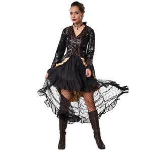Costume Rebelle steampunk femme carnaval halloween robe historique adulte fête