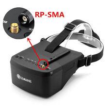 """Eachine EV800 5"""" 5.8G 40CH FPV Goggles Glasses 800x480 3.5H Auto-search Battery"""