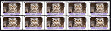 Foldex Feline Friends Cat Breeds Strip Of 10 Mint Stamps