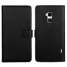 Leather Matte Mobile Phone Cases, Covers & Skins with Card Pocket for HTC One
