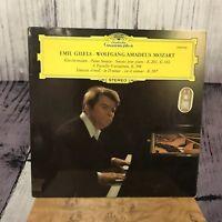 Mozart Piano Sonatas K.281 & 310 Emil Gilels Vinyl Record LP