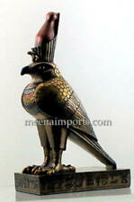 New listing Horus The Falcon-The Protector-Gold Bronze Finish