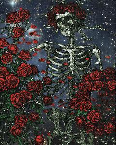 BERTHA IN THE STARS BLOTTER ART BY MONKEY  - GRATEFUL DEAD STANLEY MOUSE