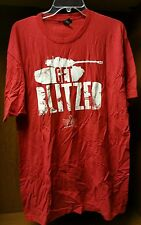 PAX PRIME 2014 World of Tanks Blitz Shirt Exclusive Get Blitz color red sz XL