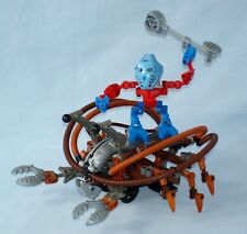 Lego Bionicle Warriors TOA TAKUA & PEWKU CRAB 8595 - Complete 2003 set
