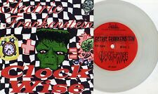 """Electric Frankenstein - Clock Wise 7"""" CLEAR VINYL Adrenalin O.D. Verbal Abuse HC"""