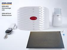 GSM Funk Alarmanlage für medizinische Betreuung DRH-MS1-BUNDLE von GSM-One