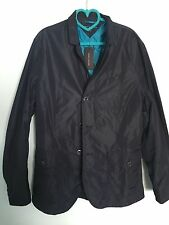 Tommy Hilfiger Men's Coat NWT FREE SHIPPING Overcoat Size M Midnight Blue ($179)
