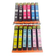 12PK 2 Set Hi-Yield Ink For Epson 277XL 277 T277XL Expression XP850 XP950 XP960