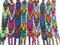 Wrist Bracelet Handmade fabric woven Guatemala Friendship Bracelets guatemalan
