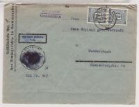 All.Bes./Gemeinsch.Ausg. Mi. 920 MeF, Gummersbach, 30.7.46, Doppelverw. AM-Post