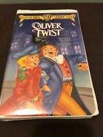 Oliver Twist (Animated) (VHS, 1999, Warner Brothers Classic Tales Clam Shell)