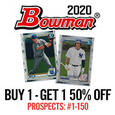 2020 Bowman Chrome - BUY 1 GET 1 50% OFF You Pick to Complete Your Set #BPC1-150
