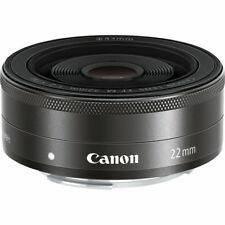 CANON EOS EF-M 22mm F2.0 STM LENS - CANON M MOUNT - UK STOCK