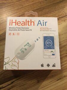 iHealth Air Wireless Fingertip Pulse Oximeter New Sealed Box