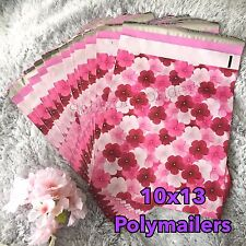 30 Designer Printed Poly Mailers 10X13 Shipping Envelopes Bags Hibiscus