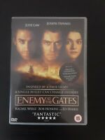 Enemy At The Gates (DVD, 2001) Ed Harris, Rachel Weisz Cert 15