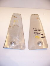 1955 DESOTO 2D HT POWER FRONT BENCH SEAT MOTOR ALUMINUM COVERS OEM FIREDOME +