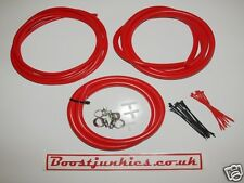 Seat Ibiza Cupra/Cupra R/1.8T Silicone Vacuum Hose kit- Red   Boostjunkies