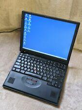Vintage Laptop - IBM ThinkPad 600E - 2645-4YU - circa 1999