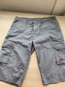 Ladies Khaki Cargo Shorts, Size M trespass rarley worn